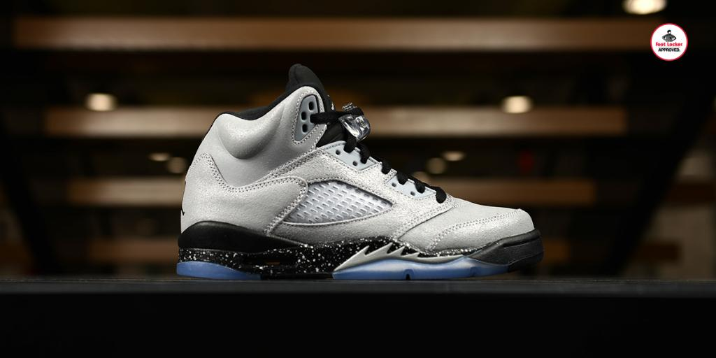 096b461c1eab9f  footlocker 2 years. the grade school air jordan 5 retro wolf grey arrives  in stores and online saturday