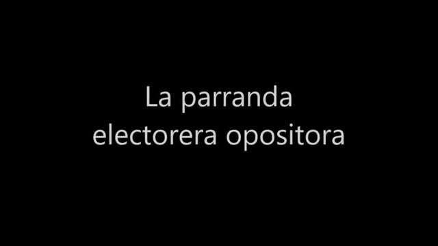 La parranda electorera opositora Alberto Franceschi 🗣️ H02 Woody Allen Pentágono Fuera Meade #QueRicoCuando https://t.co/9oP2SYiG13