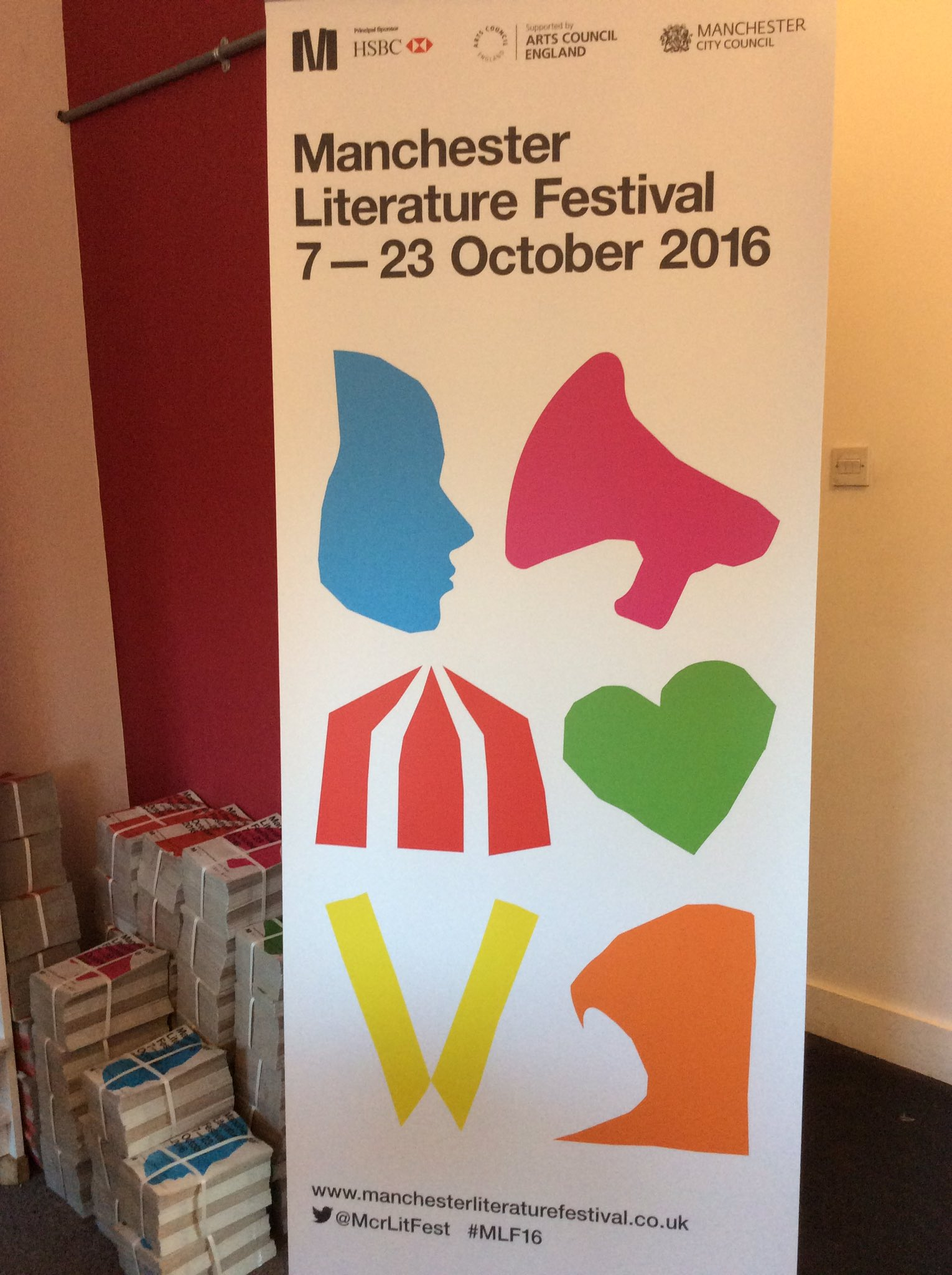 The banners for this #MLF16 have arrived and we think they look pretty darn lovely... https://t.co/oVI0HhEj2x
