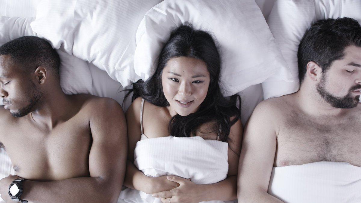 Threesome video trailer, tichina arnold porn vide