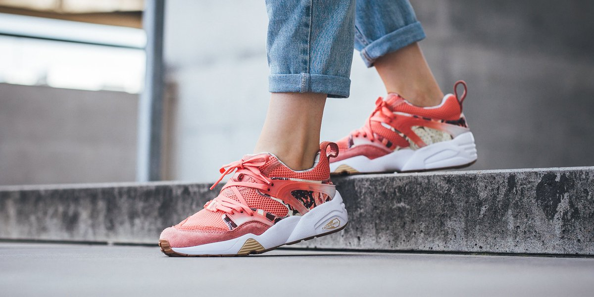 puma blaze of glory rose pale