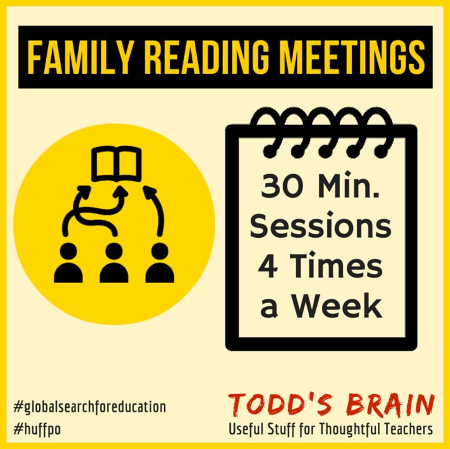 Improve student reading with the Family #Reading Meeting. https://t.co/XNKiBKPQrf #ela https://t.co/PHemQQycfZ