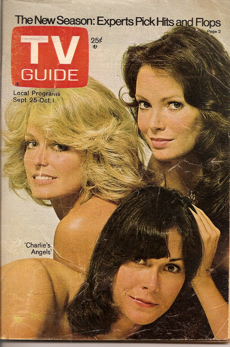 #TBT TV Guide Sept '76. 40 yrs next month! #CharliesAngeles https://t.co/jVEZxOdUB4