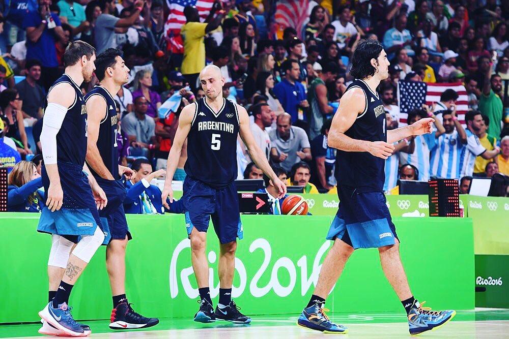 La NBA rendió homenaje a la Generación Dorada