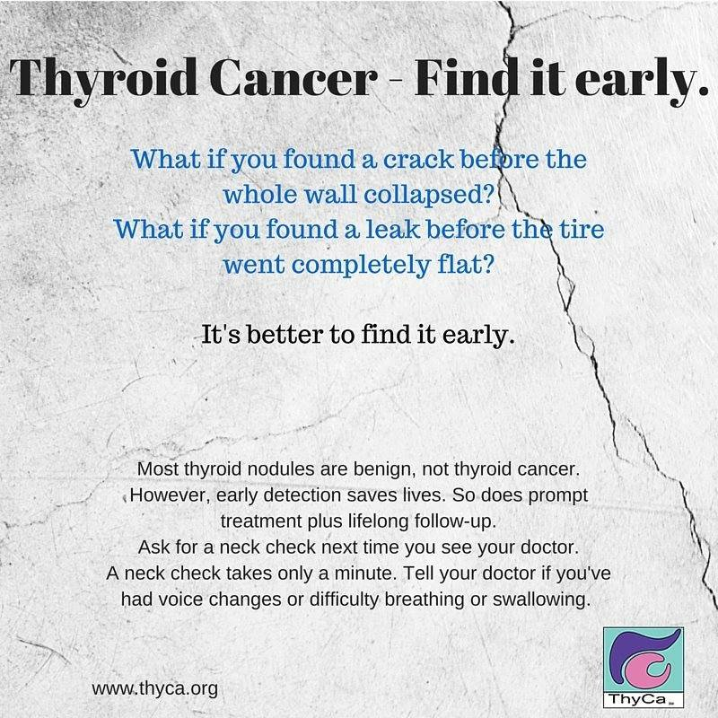 Thyca Inc On Twitter Ask Your Doctor For A Neck Check Thyroid