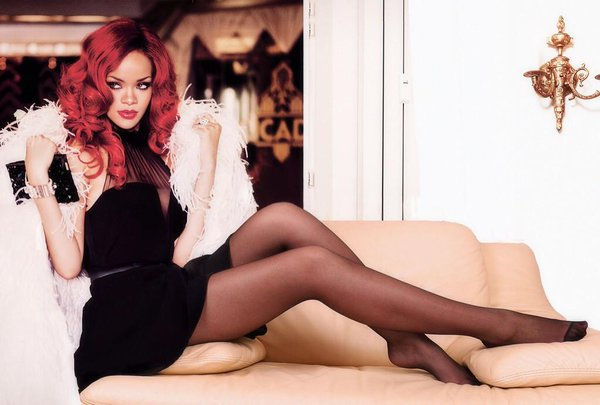 Love this rhianna pantyhose legs pics suce bien
