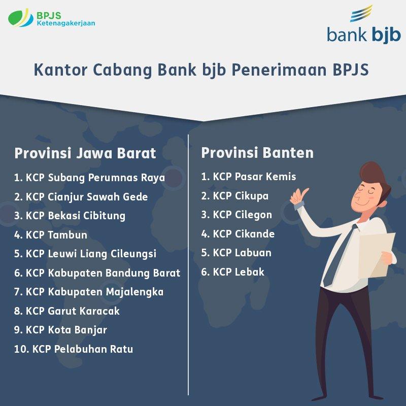 Bank Bjb على تويتر Dapatkan Kemudahan Untuk Lakukan Pembayaran Bpjs Ketenagakerjaan Di Kantor Cabang Bank Bjb