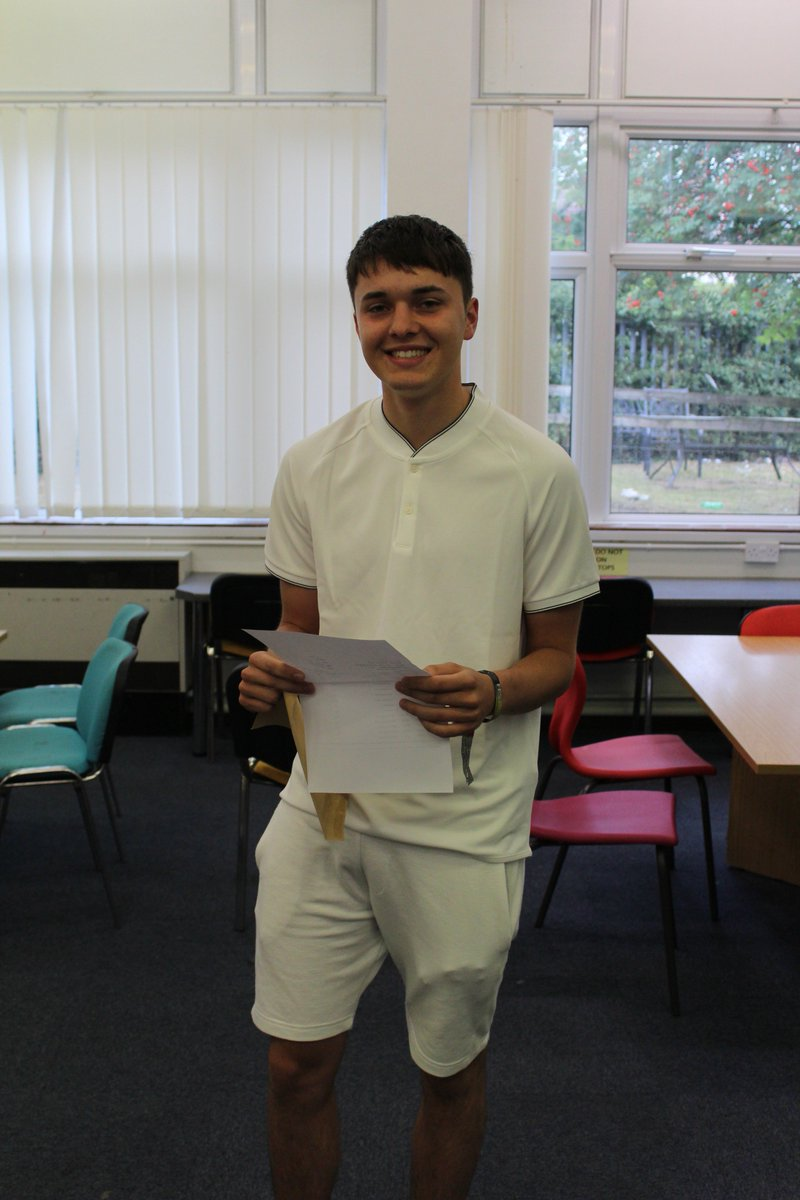 Brandon McBride is off to study Economics at Nottingham University having achieved AAB at A Level! Well done!