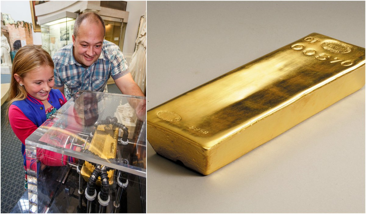 Bank Of England Museum On Twitter DYK You Can Hold A Real Gold Bar In The Weighing An Impressive 13kg Sadly Cant Take It Away