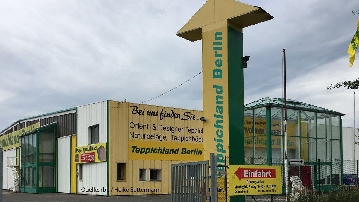 Rbb 24 On Twitter Das Traditionsunternehmen Teppichland Berlin