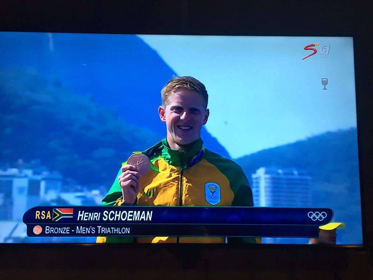 Imagine your first WTS podium is bronze at the #Olympics. @H_Schoeman #triatlon #teamSArise @worldtriathlon https://t.co/XUyxSKavGO