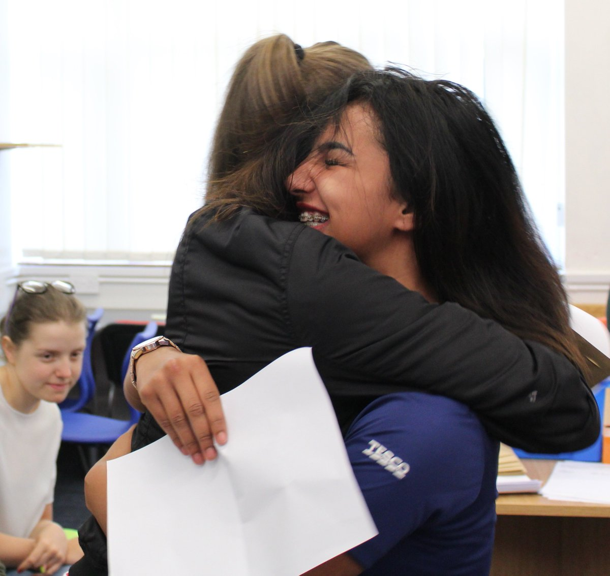 Celebrating our best ever #alevelresults with 35% achieving A*/A and 62% achieving A*-B grades in year 13! #proud