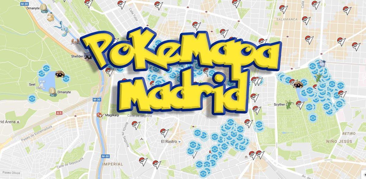 Mapa Gimnasios Pokemon Go.Pokemongo Alcorcon On Twitter El Mapa De Pokeparadas Y