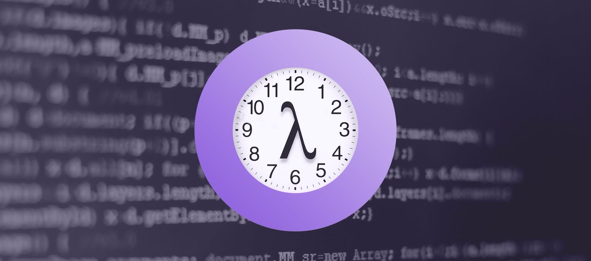 Need a better way to do Cron? Our tutorial on #Serverless Scheduled Tasks may come in handy: https://t.co/XxCc5liVFV https://t.co/t1iivxHrLx