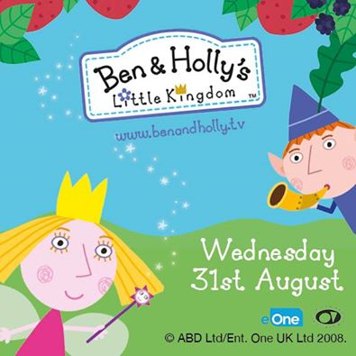Ben and Holly will be here with us on the 31st of August. Make sure you don't miss out! Only £1 entry. #benandholly https://t.co/qRigQJy1AY