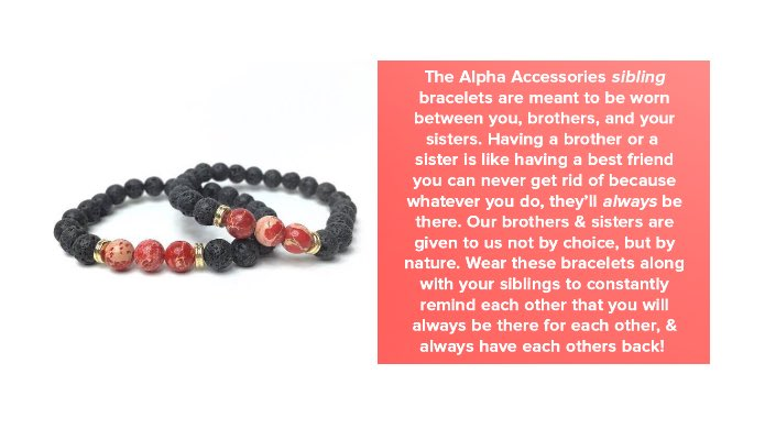 Introducing Sibling Bracelets Https T Co Sry13gdcgf