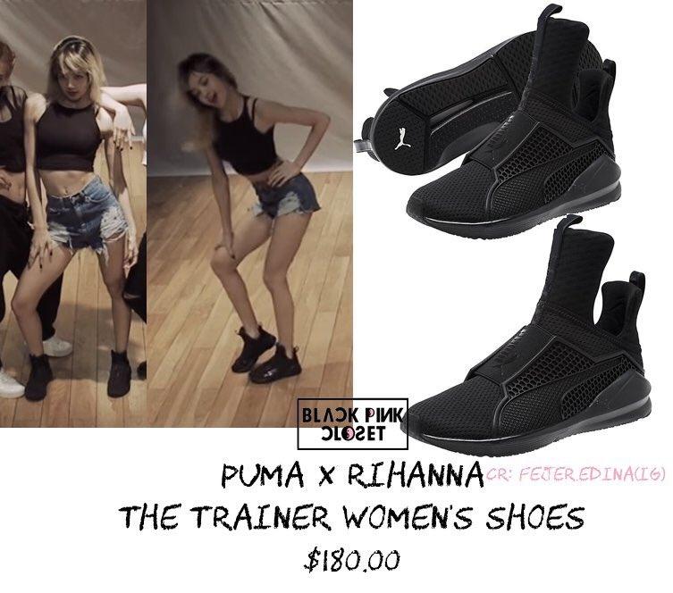 Black Pink Lisa Whistle Shoes