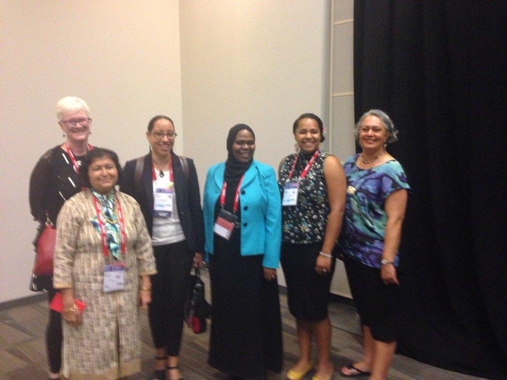 Presenters at #WLIC2016 @ifla_im  indigenous matters section. https://t.co/ySjUb0YtkS