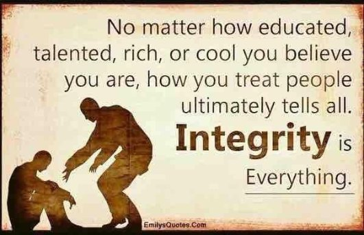 Integrity is Everything... https://t.co/ndfL9FIrhz