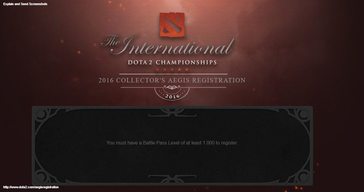 dota 2 on twitter the deadline for the aegis registration has