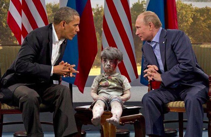 Syrians have started memes with Omran's photo expressing anger over the failure of the world to act. #CBC https://t.co/BspuJHZdx7