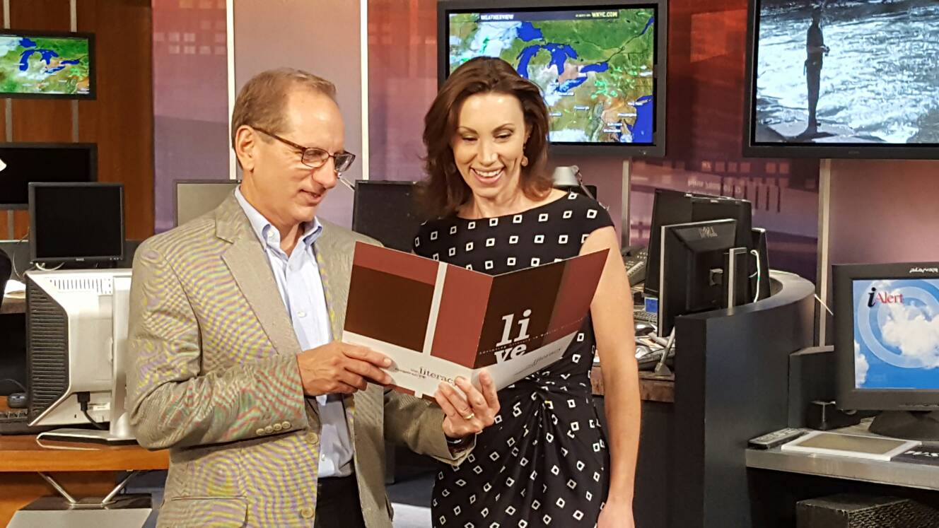 Bob and @BetsyKling are planning for a great #CLEBEE on Thursday 9/8 @TheCityClub @wkyc https://t.co/tV3EUj7KSj