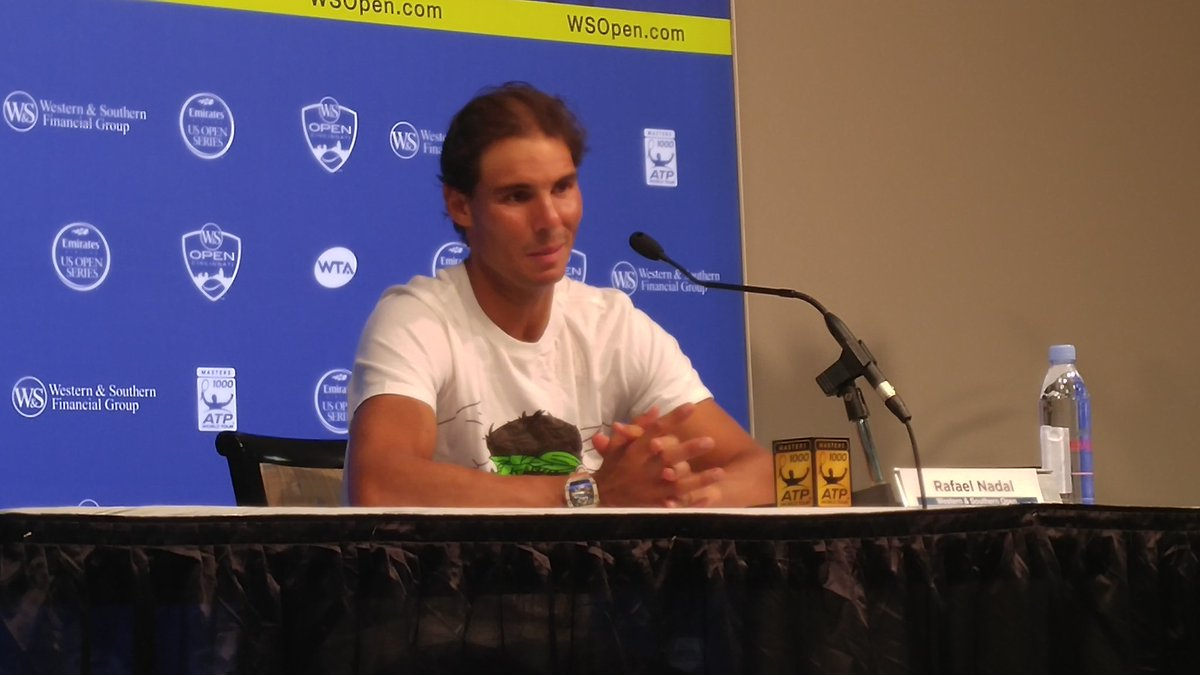 "Nadal said both arm and elbow hurt. Says not enough time to rest after Rio. ""So now I pay."" #CincyTennis https://t.co/djH0B327c1"