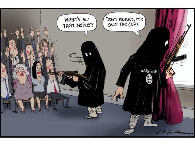Bill Leak Explained On Twitter Islamic Terrorists Neednt Be