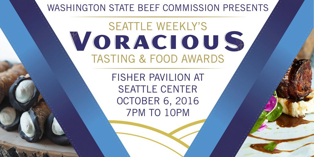 Our 8th Annual Voracious Tasting & Food Awards is set for Oct 6! Buy Early bird tickets now: https://t.co/LzZvYdyLgB https://t.co/t8Fx1sEeAd