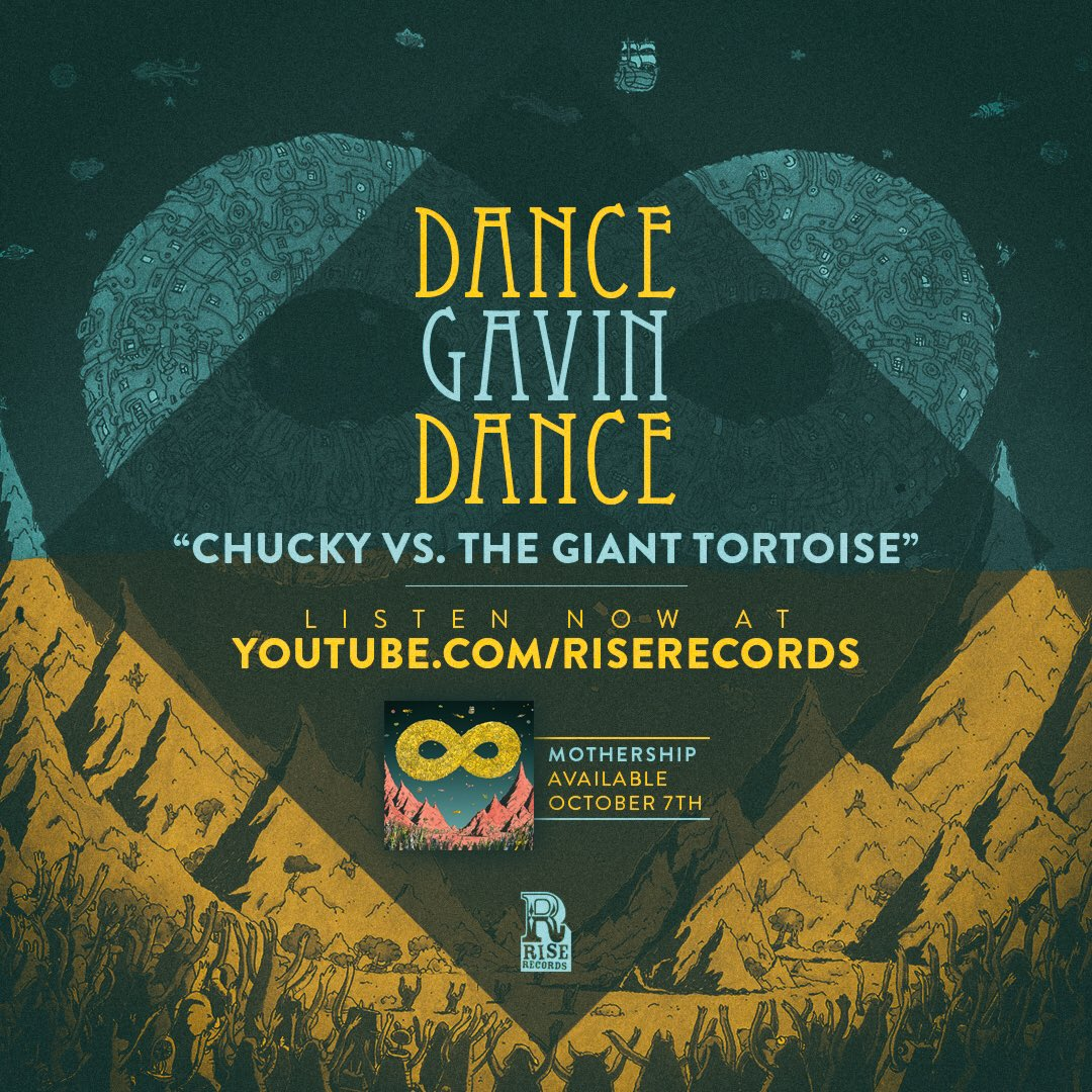 """NEW SONG! Check out """"Chucky vs. The Giant Tortoise"""" on YouTube: https://t.co/xMhNaMpPkM https://t.co/9RBnuPSCGF"""