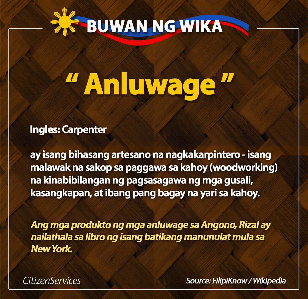 Pilipinas teleserv on twitter anosatagalog ang carpenter psahelpline fast and hassle free psa birth certificate delivery psahelpline httpst5s3vx2ldkg aiddatafo Choice Image