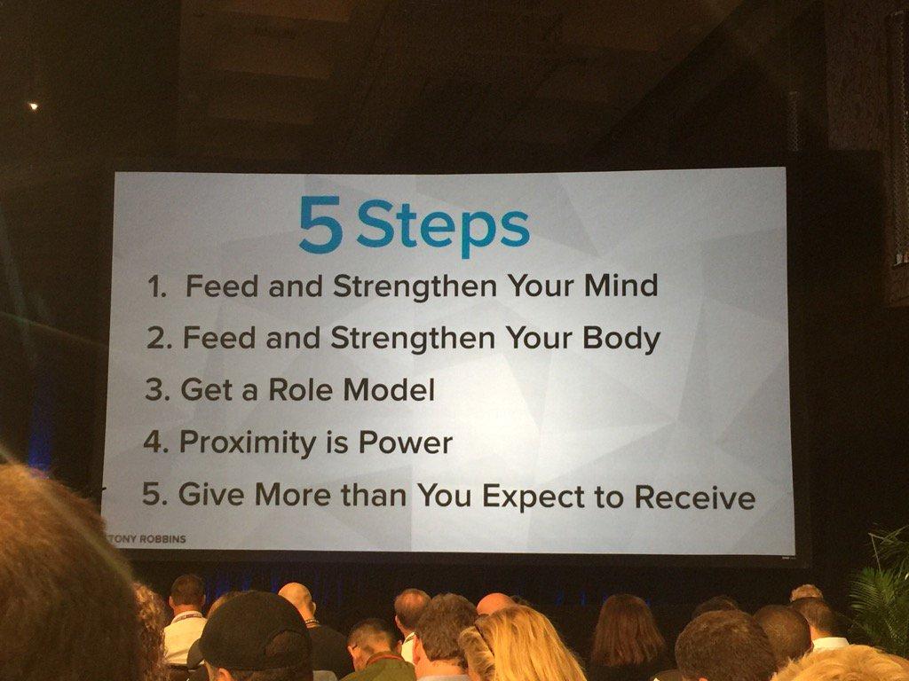 5 steps to creating an extraordinary life. #BMLasVegas2016 https://t.co/6pciReFTKi