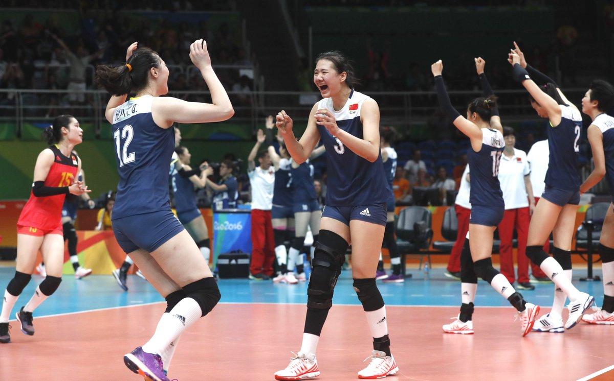 Netherlands: China women volleyball team beat the ...