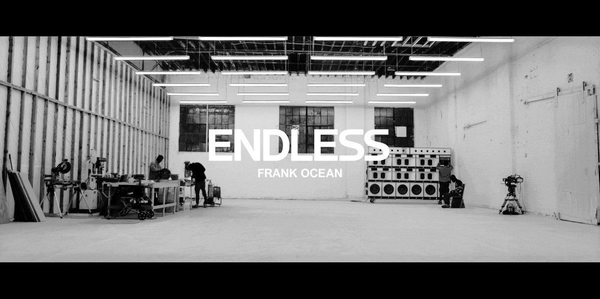 Frank Ocean Finally, Finally Reveals Stunning Visual Album, Endless