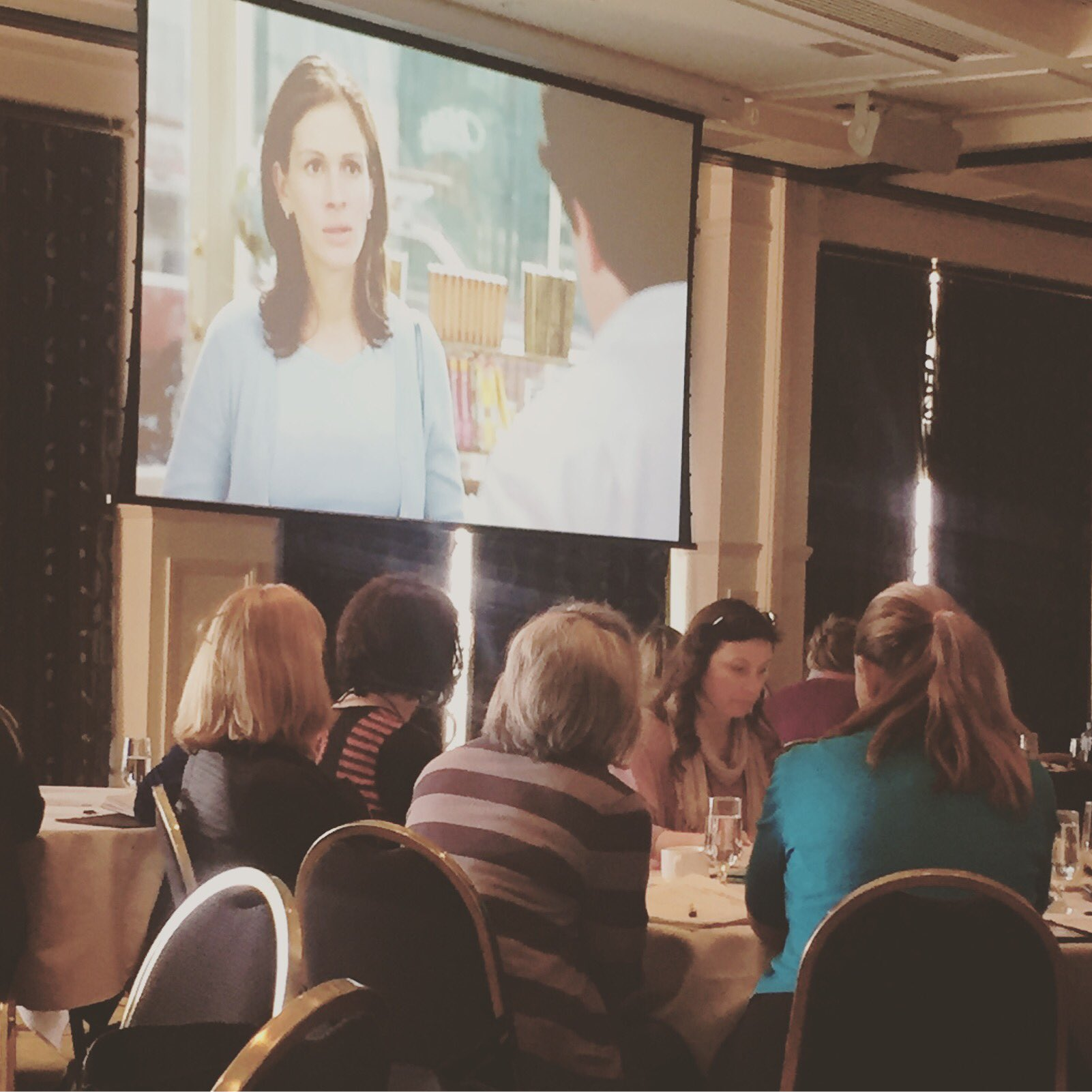 I'm just a girl, standing in front of a boy, asking him to love her #rwaus16 #nottinghill https://t.co/6iVRPx5wfM