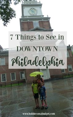 7 Things to See in Downtown Philadelphia  https://t.co/4NH7Kxvi1Y #familytravel https://t.co/igikzEqIN0