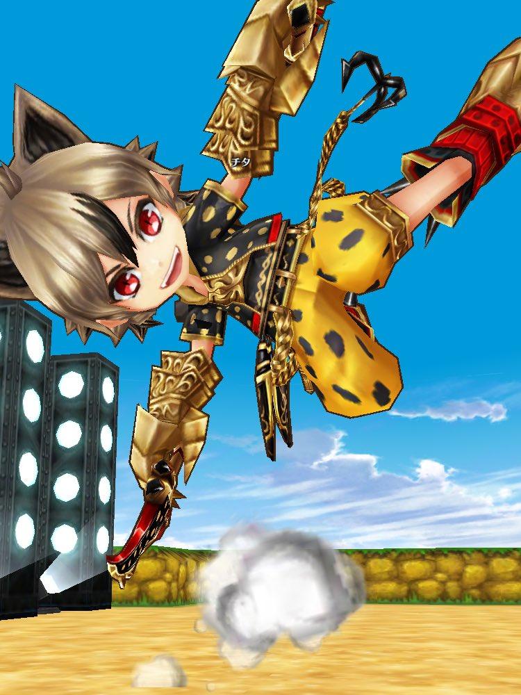 【白猫】フォースター21st新キャラ双剣「チタ」は革命軍の超チャラいCV松岡禎丞!チーター的な速さでSP量が多いほど加速!【プロジェクト】