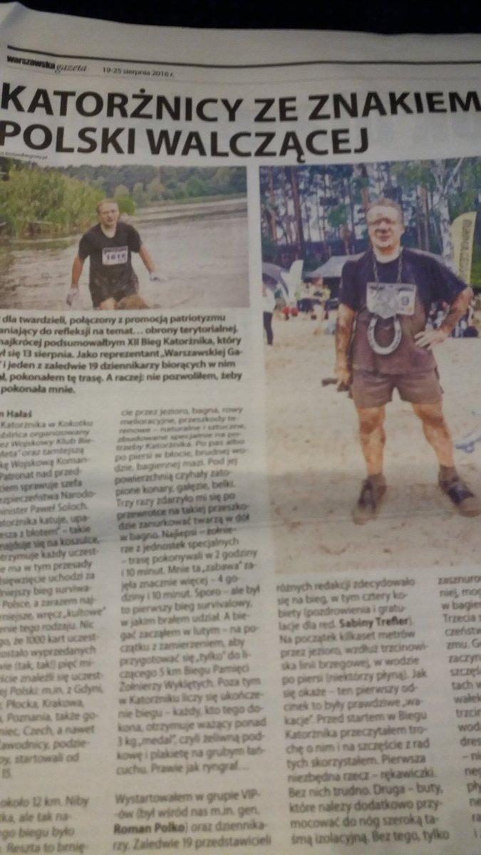 Chwila lansu, czyli w @WarszawskaG moja relacja z #biegkatorznika #biegkatorżnika pic.twitter.com/2tF2Itwct3