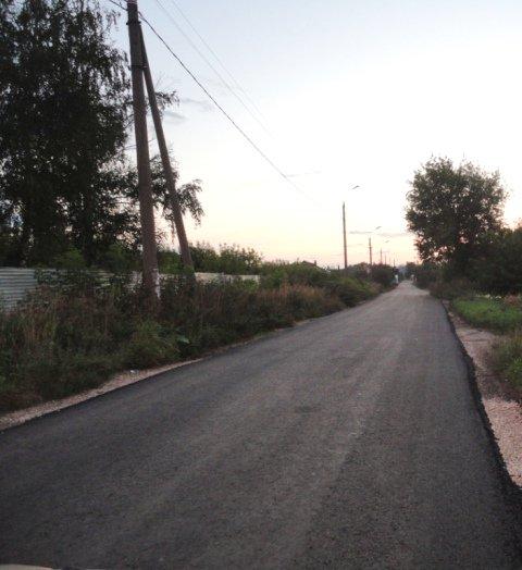 Ремонт дорожного полотна на ул.Свердлова