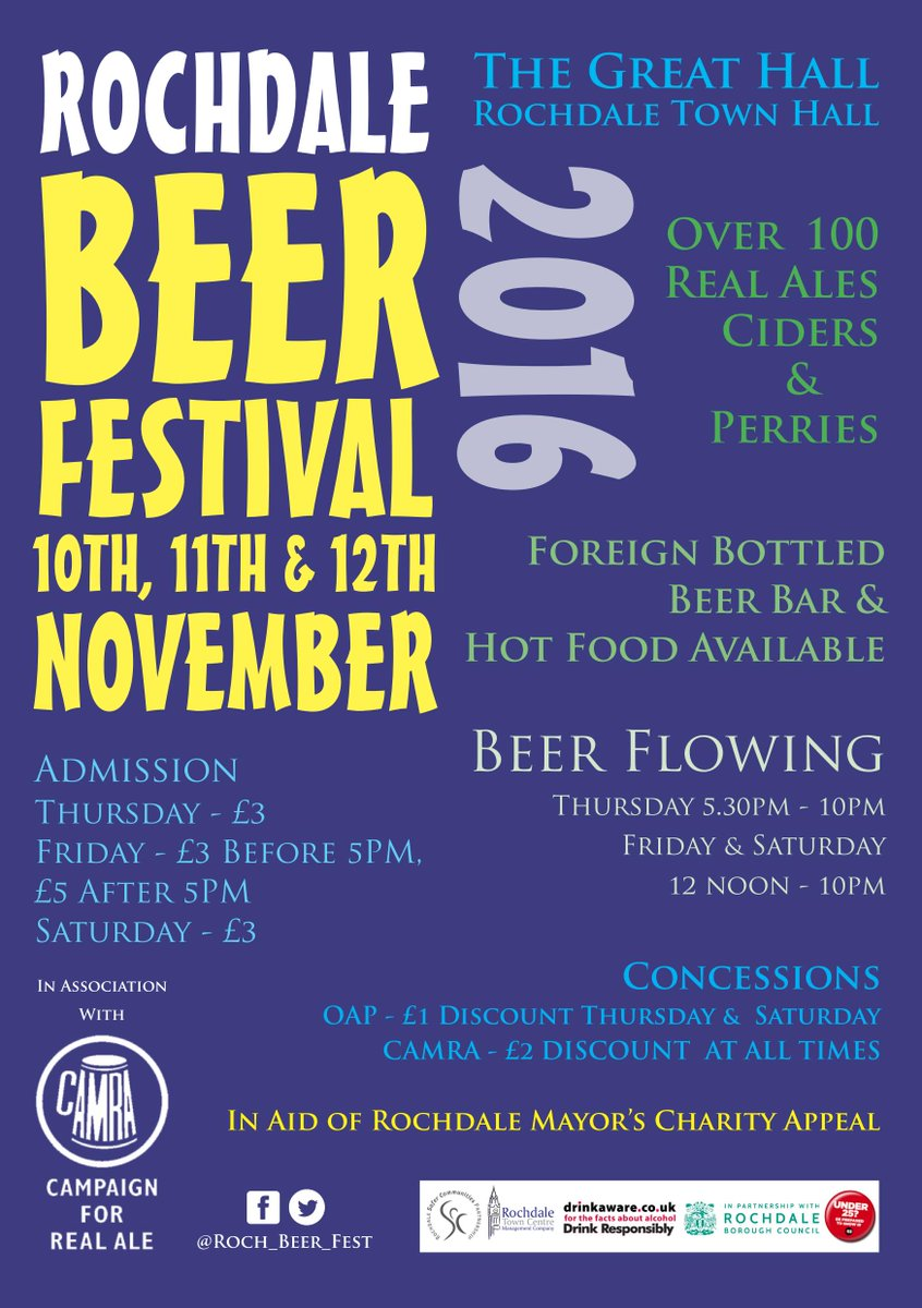 """Get this date in your diaries folks. I'll be """"curating"""" the beer. Putting my reputation where my mouth is. https://t.co/jPQ2HOOdi7"""