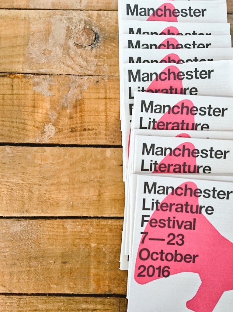 Grab #coffee & plan ahead with @McrLitFest free guide in store! #VivienneWestwood @MargaretAtwood sold out #MLF2016 https://t.co/YiXFOnnyqL