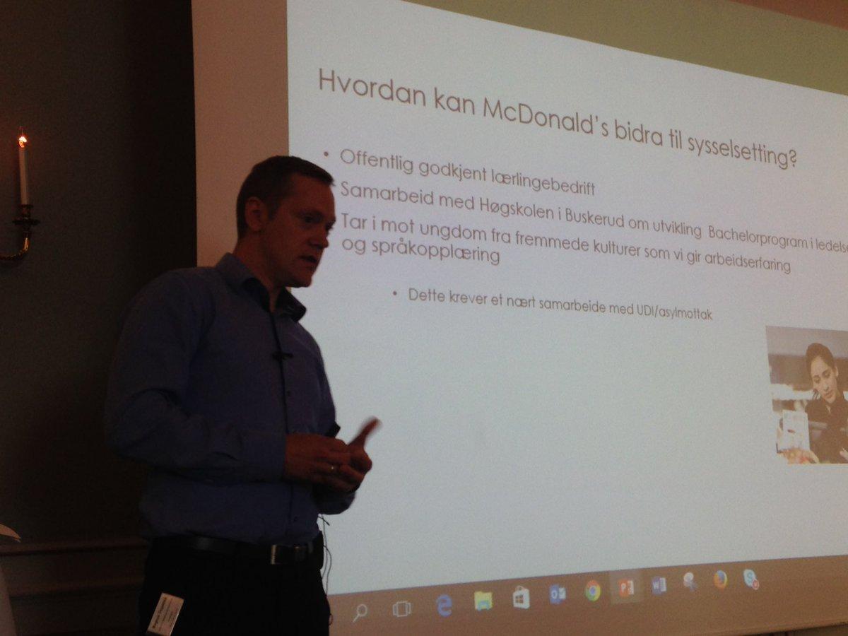 Magnus Dagestad deler verdifullt om opplæring og utvikling på alle nivåer i @McDonaldsNorge @GPTW_NO https://t.co/vCaVNanTyB