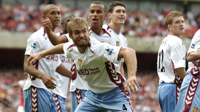 Image result for arsenal 1-1 aston villa mellberg 2006