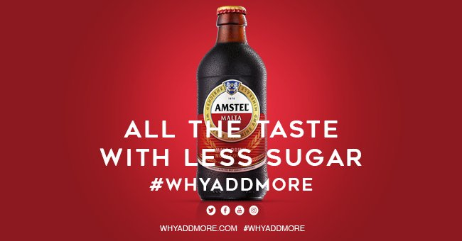Image result for amstel malta why add more