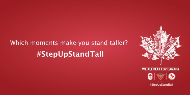 There have been so many great @CanadianTire #StepUpStandTall moments - What's your pick for the moment of the day? https://t.co/YbfFO8HJc1