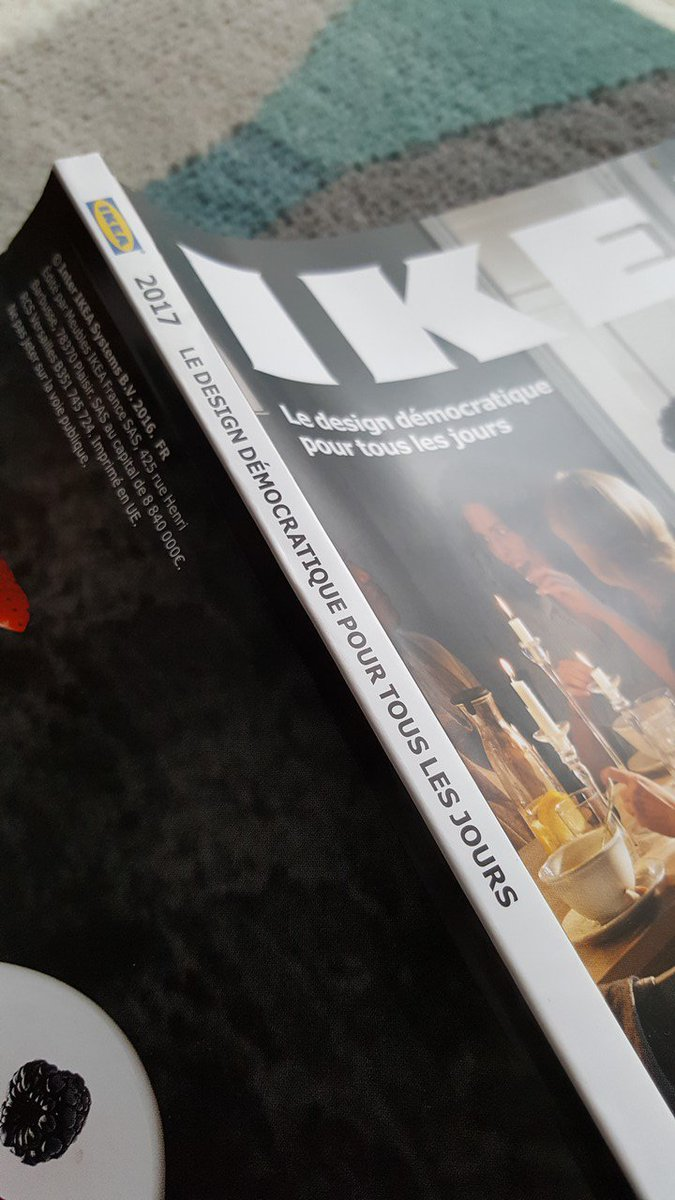 Ikea Addict On Twitter Tout Sur Le Nouveau Catalogue Ikea 2017