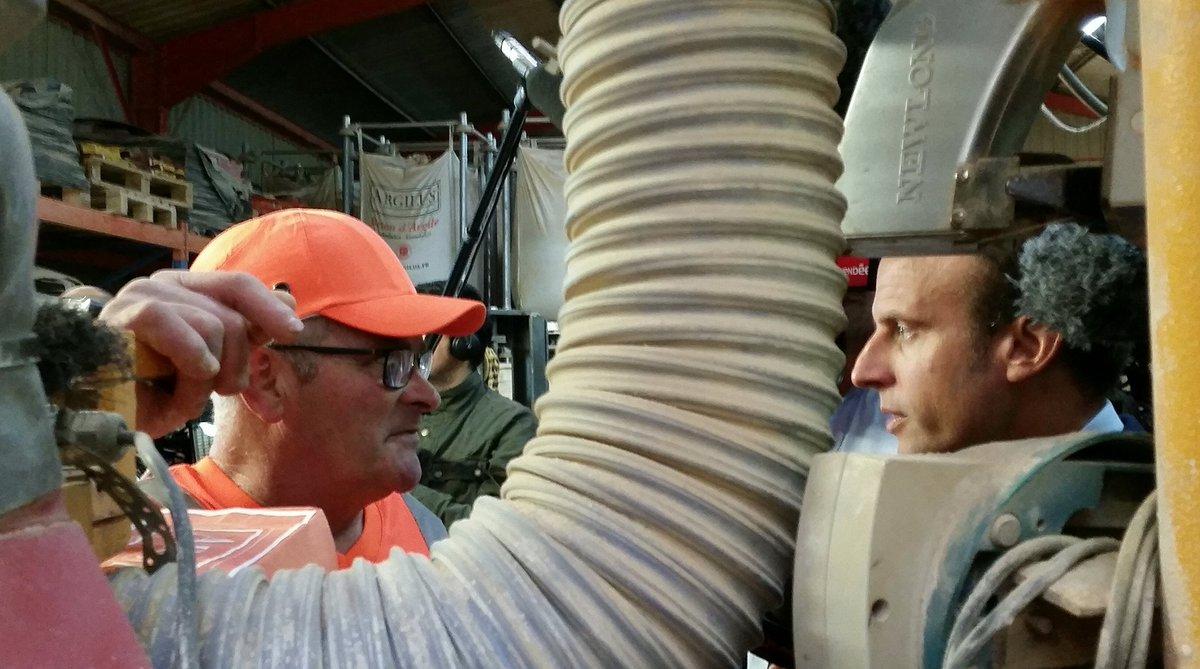 Emmanuel macron on twitter en vend e aujourd 39 hui visite d 39 ar - Materiaux de construction innovants ...