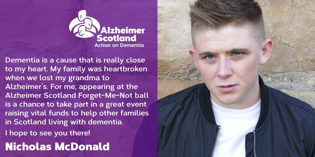 RT @alzscot: Wow! @nickymcdonald1 is making a special appearance at our Forget-Me-Not ball in September! https://t.co/7YfA4lhCtk https://t.…