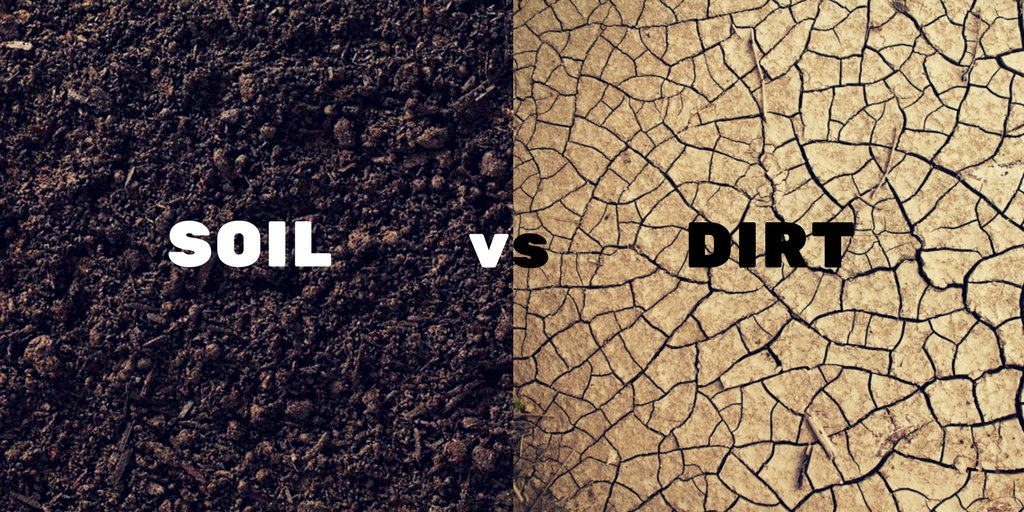 Jennifer martin jmartinisu twitter for Soil vs dirt