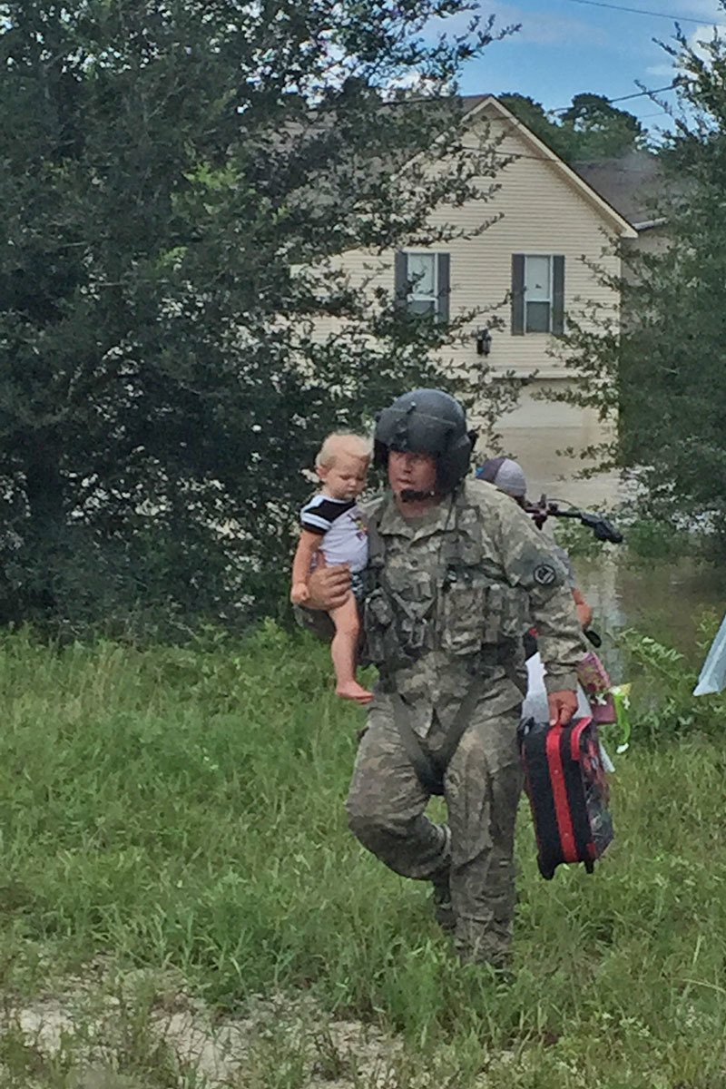 To date, the @LANationalGuard has rescued over 19,000 citizens and 2,660 pets. https://t.co/wSo0wR9Ts3